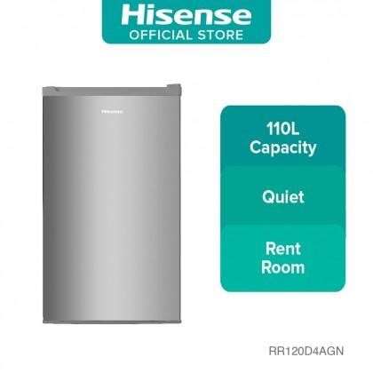 HISENSE Single Door 110L RR120D4AGN