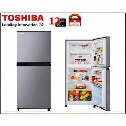 Toshiba 203L 2-Doors Refrigerator TSB-GRB22MPSS
